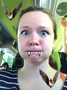 Jill as a Vampire